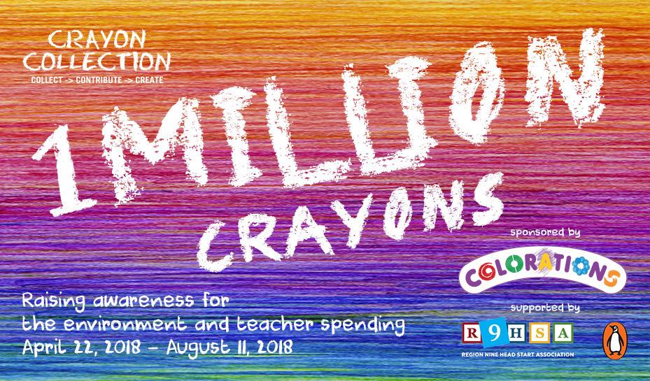 Crayon collection challenge Culver City