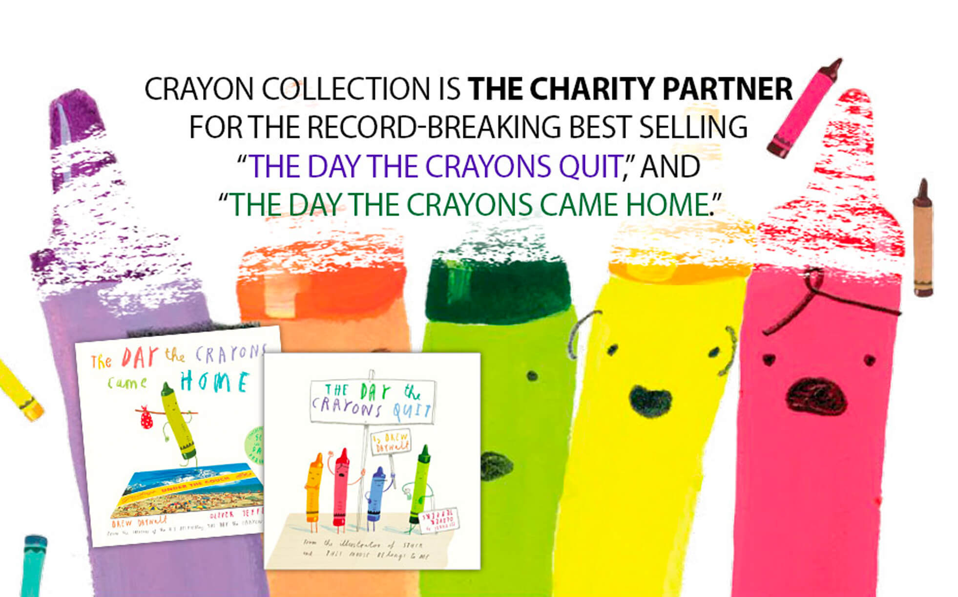Crayon Collection - The Day the Crayons Quit, The Day the Crayons Came Home