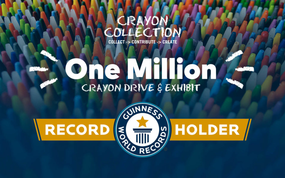 Crayon Collection is the Guinness World Record holder for most crayons donated in history.