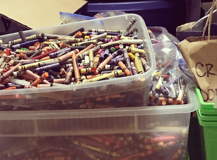 Crayon Collection - Containers of Crayons