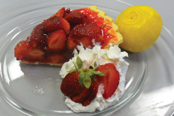 Elaine Densmore's strawberry pie is a refreshing treat suitable for a variety of get-togethers.