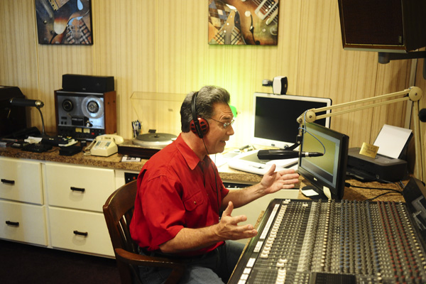 """Mike Schiermann, known to radio listeners at disc jockey Scott Michaels, is the host of local radio show, """"In the Mood,"""" which airs on 98.3 WSMX-LP, the campus radio station of Clanton's LeCroy Career Technical Center, Sundays from 3-5 p.m."""