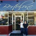 Owners Sonia Bertolone-Carrillo and Mary Bertolone-Perez, along with longtime friend and staff member Leanna Arias, stand outside of new Italian restaurant, Bertolone Italian Cafe.