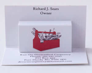 Pop Up Business Cards