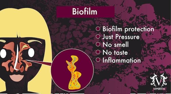 biofilm sore throat