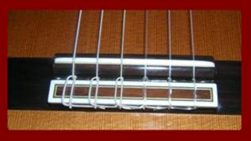 Classical Guitar Bridge