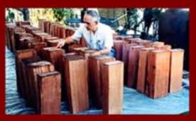 Classical Guitar Cedar Blocks