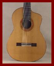 Classical Guitar Cut-a-Way 2