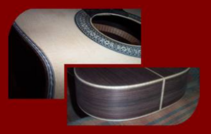Classical Guitar Edge Binding