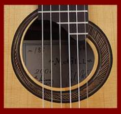 Classical Guitar Sound Hole 2