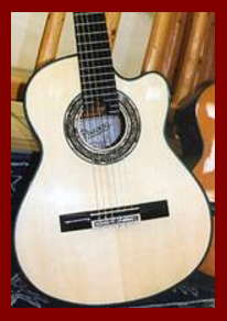 Classical Guitar top by Pimentel & Sons