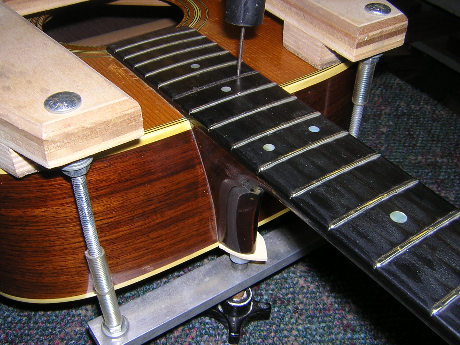 Steaming Guitar Dovetail