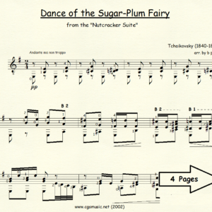 Dance of the Sugar-Plum Fairy