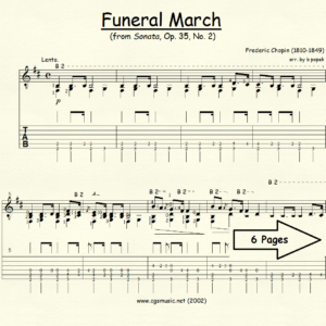 Funeral March from Sonata Op. 35 #2