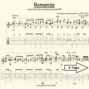 Romanza from Eine Kleine Nachtmusik