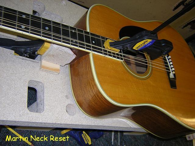 Martin Neck Reset