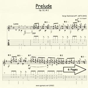 Prelude Op 32 #2