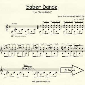 Saber Dance