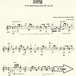 Song from Sea Pieces Op. 55, No. 5