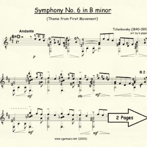 Symphony #6 in B minor