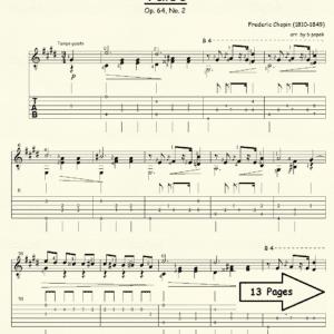 Valse Op 64 #2