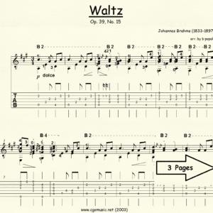 Waltz Op 39. #15