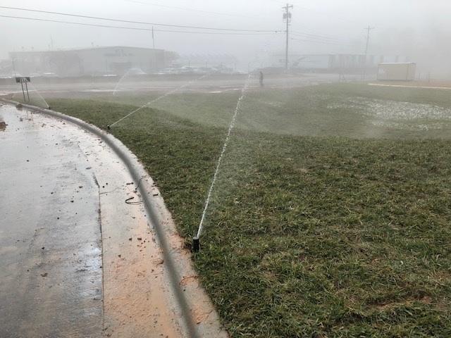 Testing Irrigation