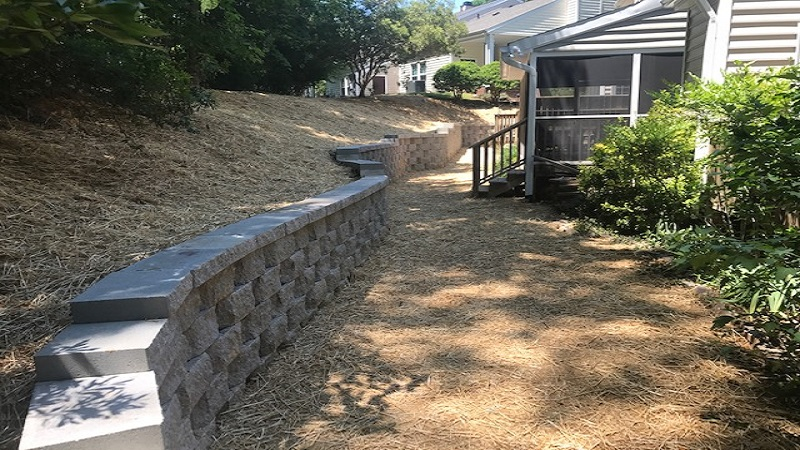 Residential Retaining Wall