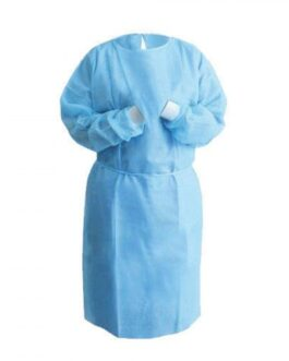Disposable SMS Isolation Gown, 40 GSM