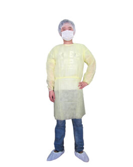 Disposable Isolation Gown, 40GSM (PP+PE)