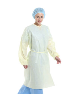 Disposable Isolation Gown, 25GSM, PP
