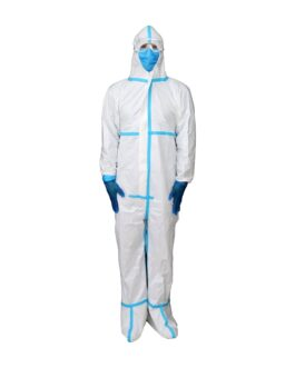 Disposable Protective Coveralls (without Shoe Cover) 63 GSM