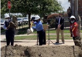 City, Community Leaders Celebrate Start of Lower Ninth Ward Road Project