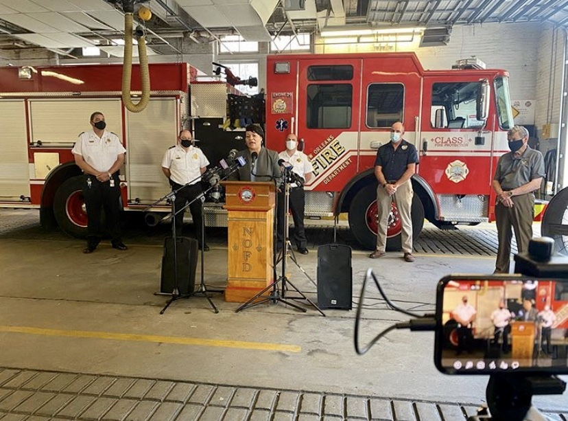 NOFD Will Hire 63 New Firefighters Over Three Years Thanks to Federal Grant