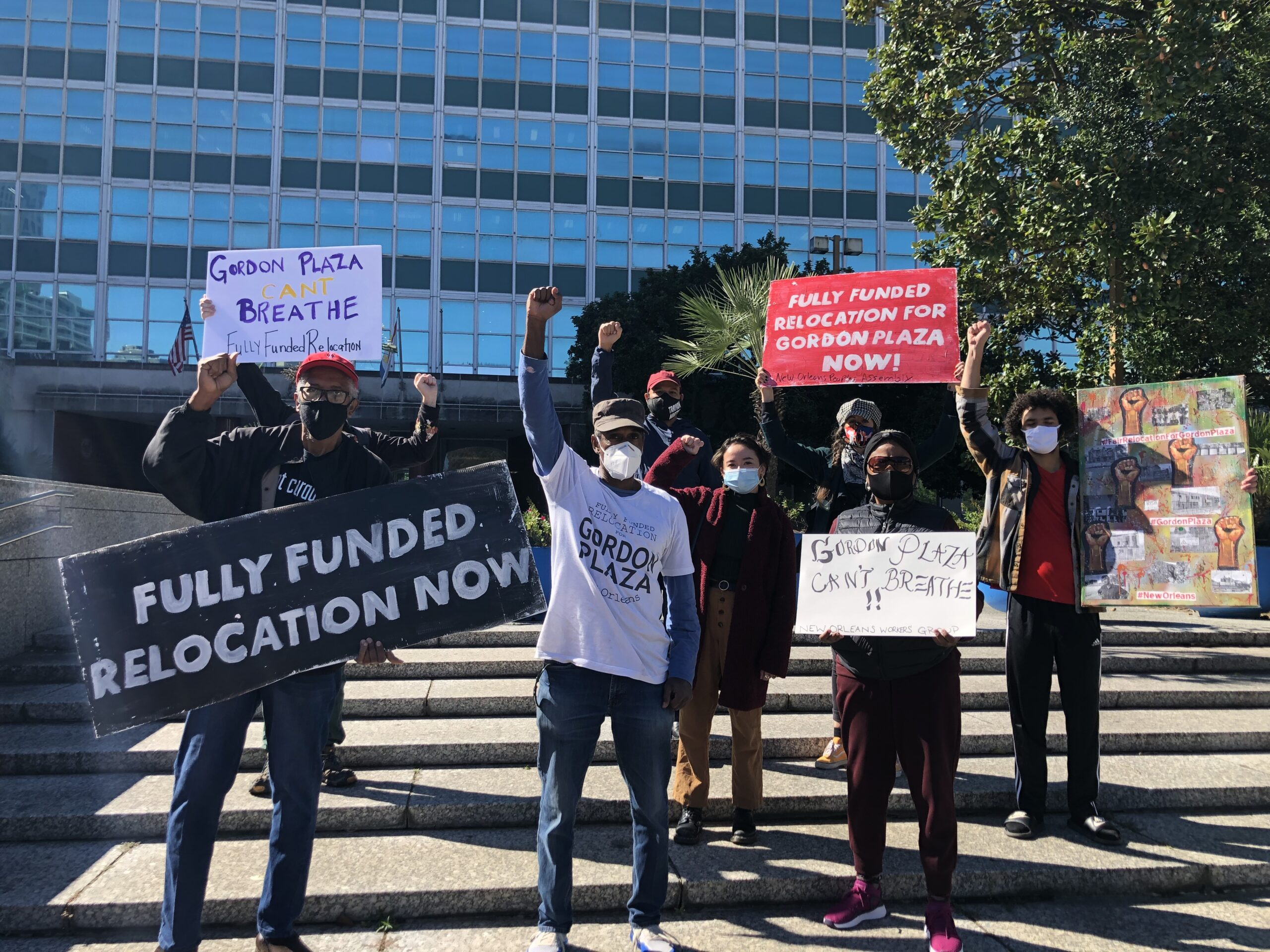 Gordon Plaza Residents Continue their Fight