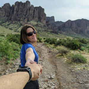 Superstition Mountains , Arizona
