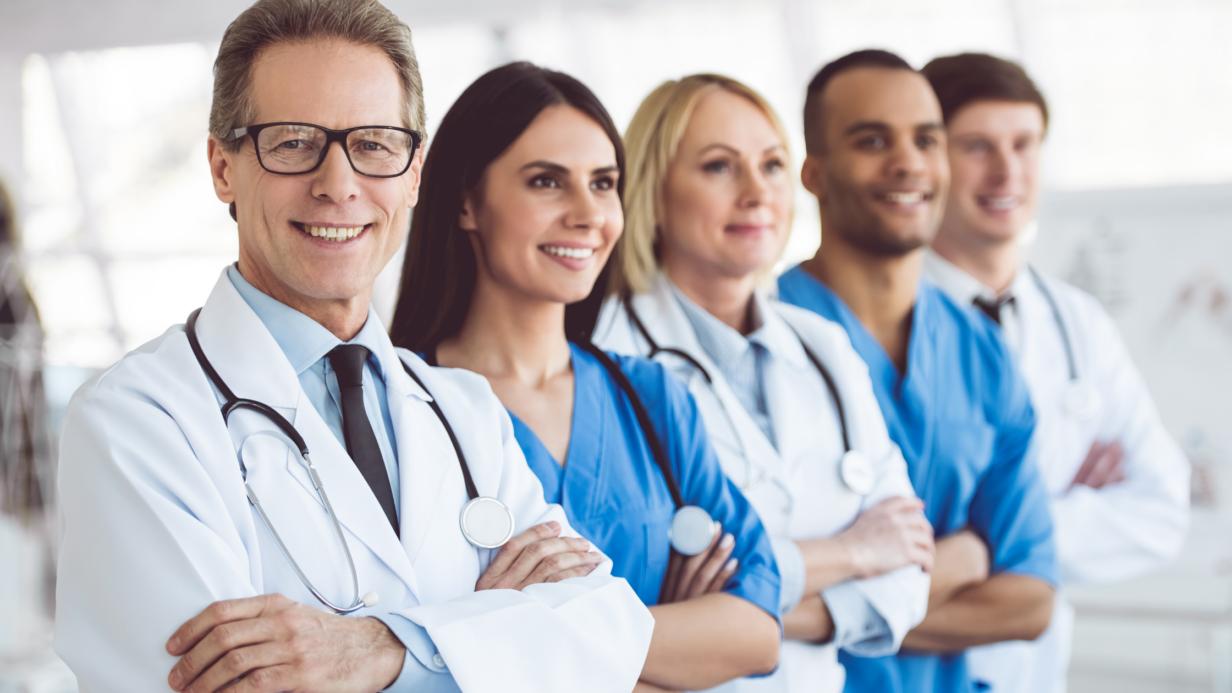Equipe de médecins