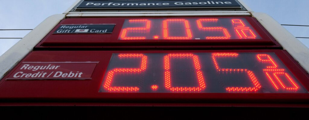 Digital Gas Sign Prices CorPro Signs Rockford
