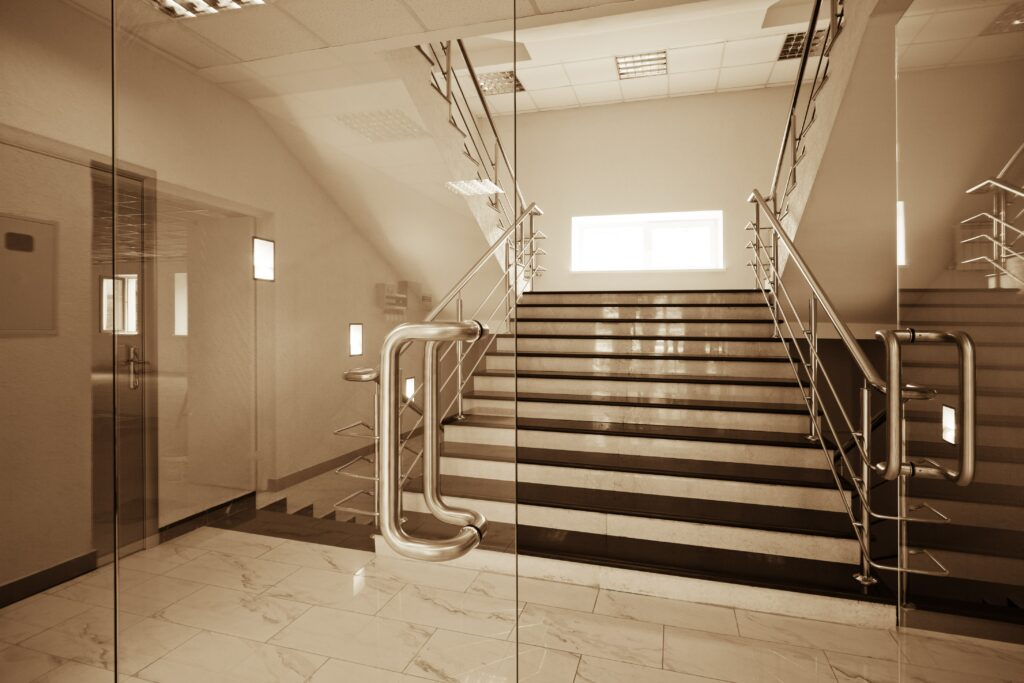 Structural Glass Commercial Doors by Markham Glass & Mirror