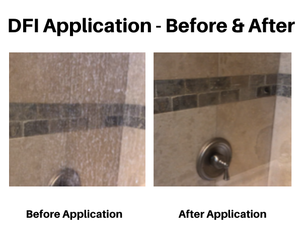 DFI Application photos show before and after results