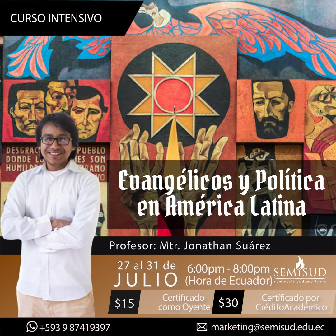 <strong>Evangélicos y Política en América Latina</strong>