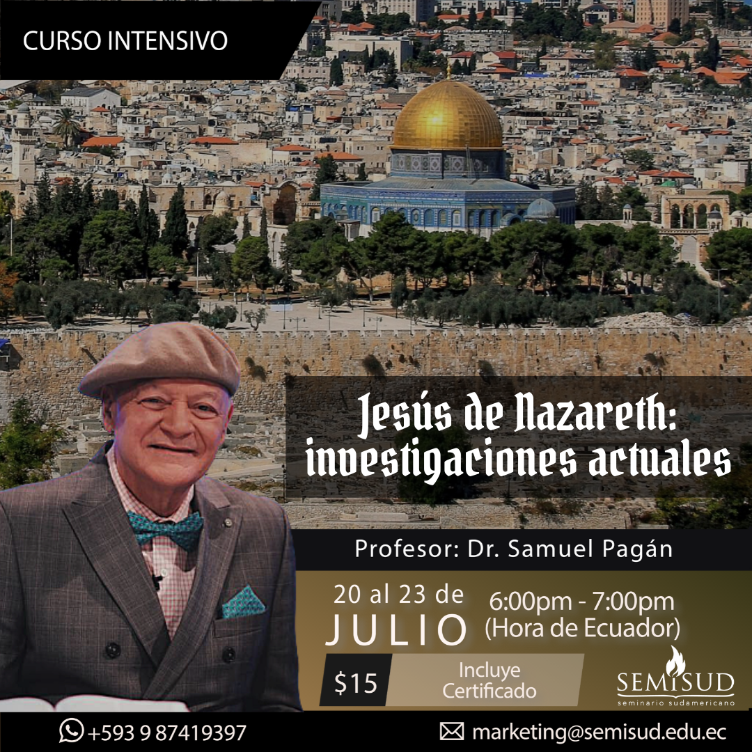 <strong>Jesús de Nazareth: Investigaciones actuales</strong>