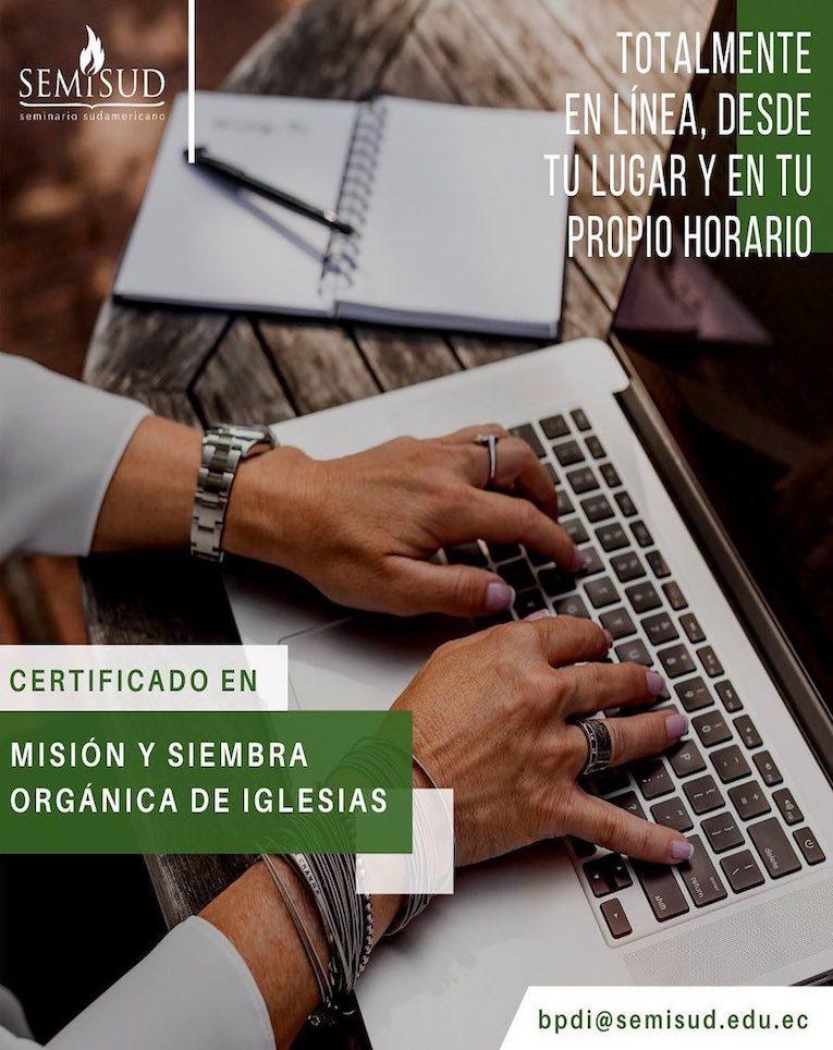 <strong>Certificado en misión y siembra orgánica de iglesias</strong>