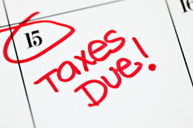 Taxes Return Forms 1040 April 15
