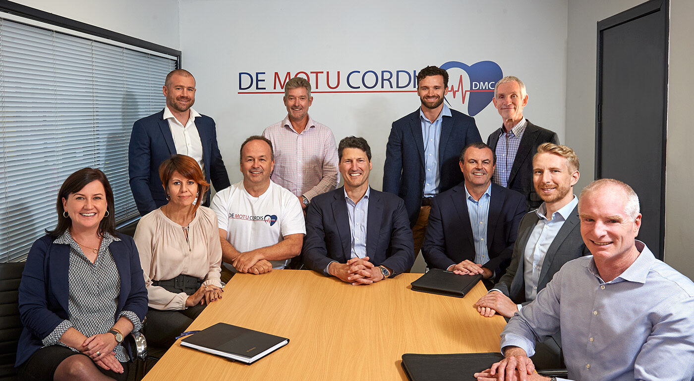 DMC welcomes Board to new premises