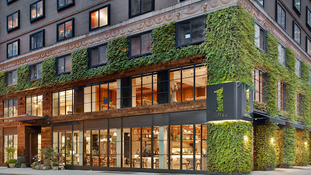 One Hotel NYC Green Wall