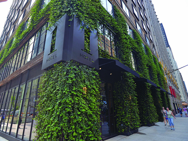 AgroSci Green Wall 1 Hotel Central Park NYC