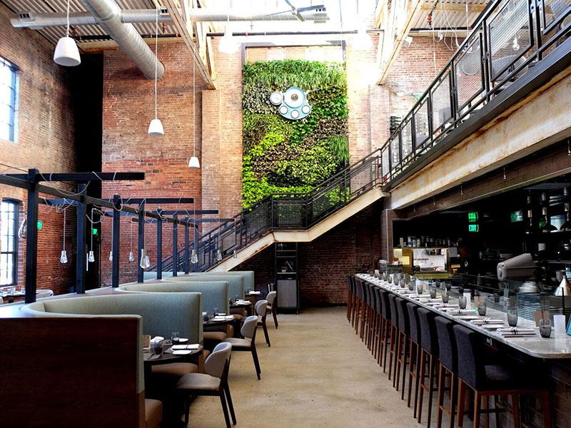 AgroSci Green wall Restaurant