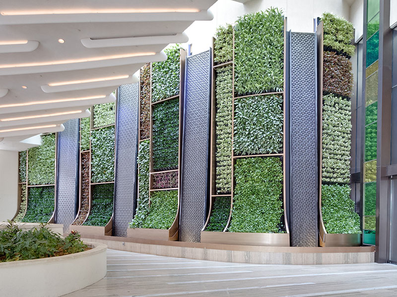 AgroSci Green Wall at Seminole Hard Rock Hotel & Casino
