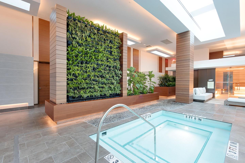 Brand New AgroSci Green Wall at Seminole Hard Rock Hotel & Casino, Hollywood, FL